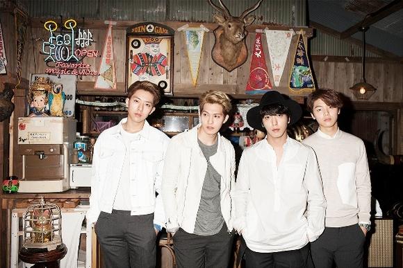 CNBLUE、ニューシングル「WHITE」4/8発売決定!ジャケ写&最新アーティスト写真公開