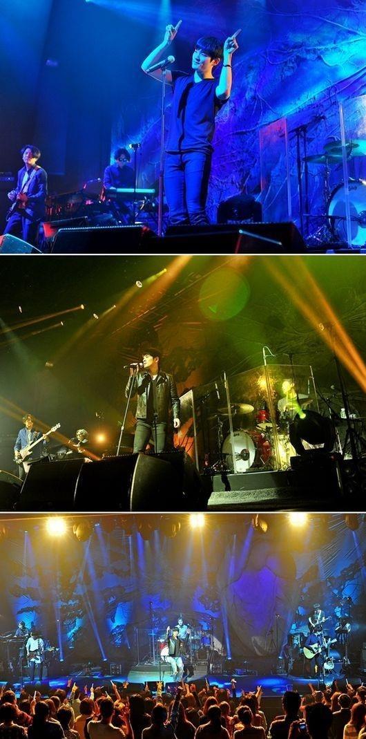 チャン・ギハと顔たち、3rdアルバム発売記念のソウルコンサートを盛況裏に終了
