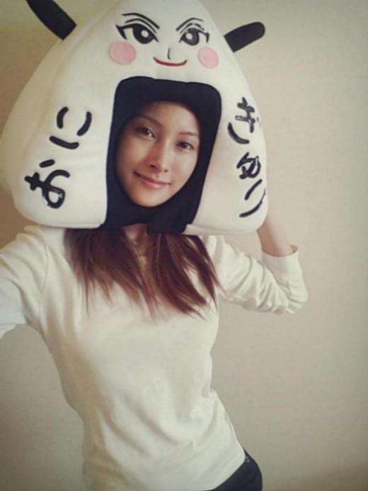 "KARA ギュリ、可愛らしい""おにぎゅり""に変身「がんばって大阪ツアー!」"