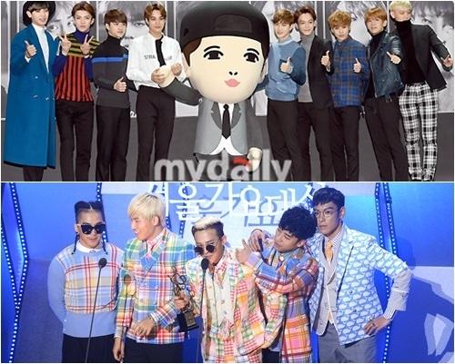 """""""カムバック""""EXO vs BIGBANG、ついに対決か…勝者はどちら?"""