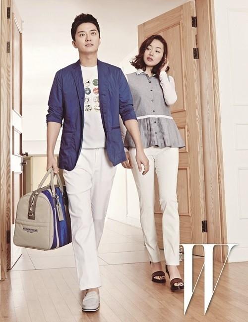 ソ・イヒョン&イン・ギョジン、新婚夫婦ならではの甘い雰囲気…グラビアが話題