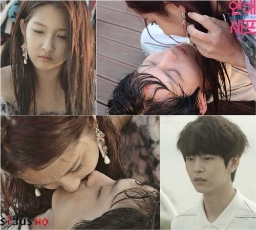 「恋愛細胞」4Minute ナム・ジヒョン&パク・ソンホ、初の出会いから激しいキスシーン披露