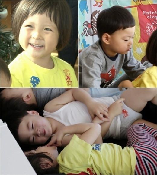秋山成勲の娘サランちゃん、ソン・イルグクの息子に唇を奪われる?愛情表現に視線集中