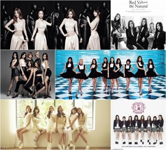 少女時代、2NE1、Apink…月ごとにまとめた最も活躍を見せたガールズグループ ― 2014K-POP決算