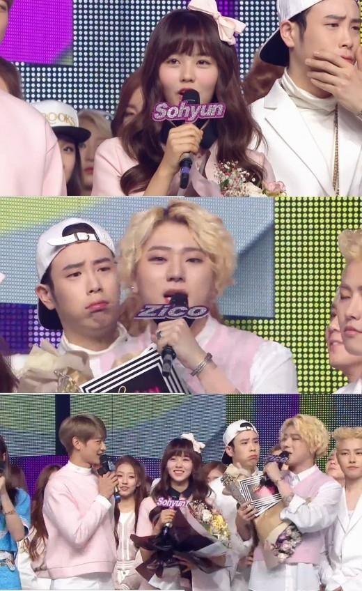 """Block B ジコ&キム・ソヒョン「音楽中心」MCから降板""""これまでありがとうございました"""""""