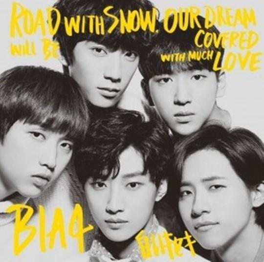 B1A4、KAT-TUN&JYJに次ぐ記録!「白いキセキ」がオリコン週間3位を獲得
