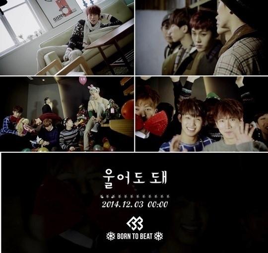 "BTOB、クリスマスソング「You can cry」スポット映像を公開""独り身の代弁者"""
