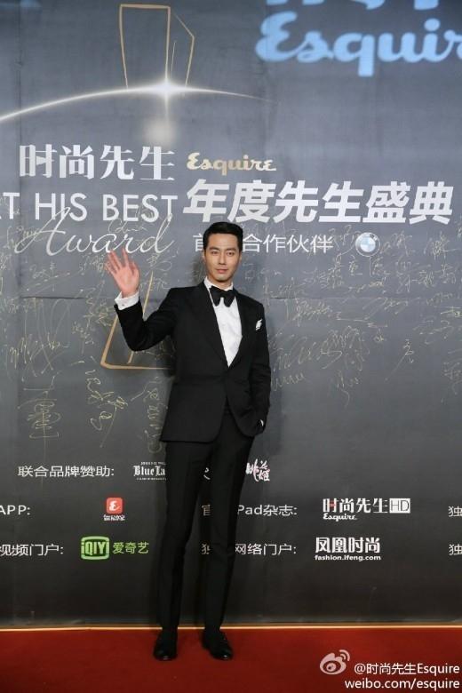 チョ・インソン、中国のメディア授賞式で「最も愛される海外スター賞」を受賞