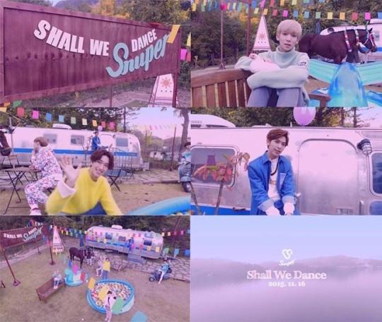 "SNUPER、デビュー曲「Shall We Dance」MV予告映像を公開…""一緒にデートしているような感覚"""