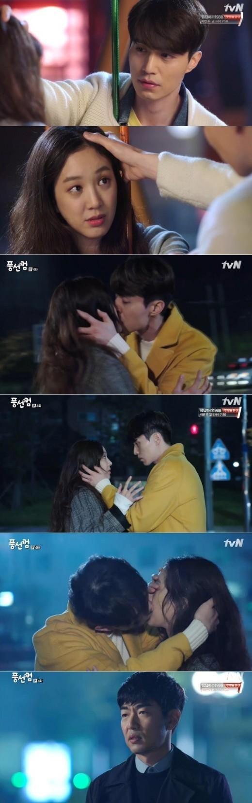 「風船ガム」イ・ドンウク&チョン・リョウォンのキス、友情の果てに恋が始まる?