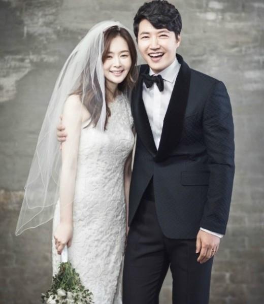"""ユン・サンヒョン&MayBee、ウェディンググラビア公開""""幸せいっぱいの美男美女"""""""
