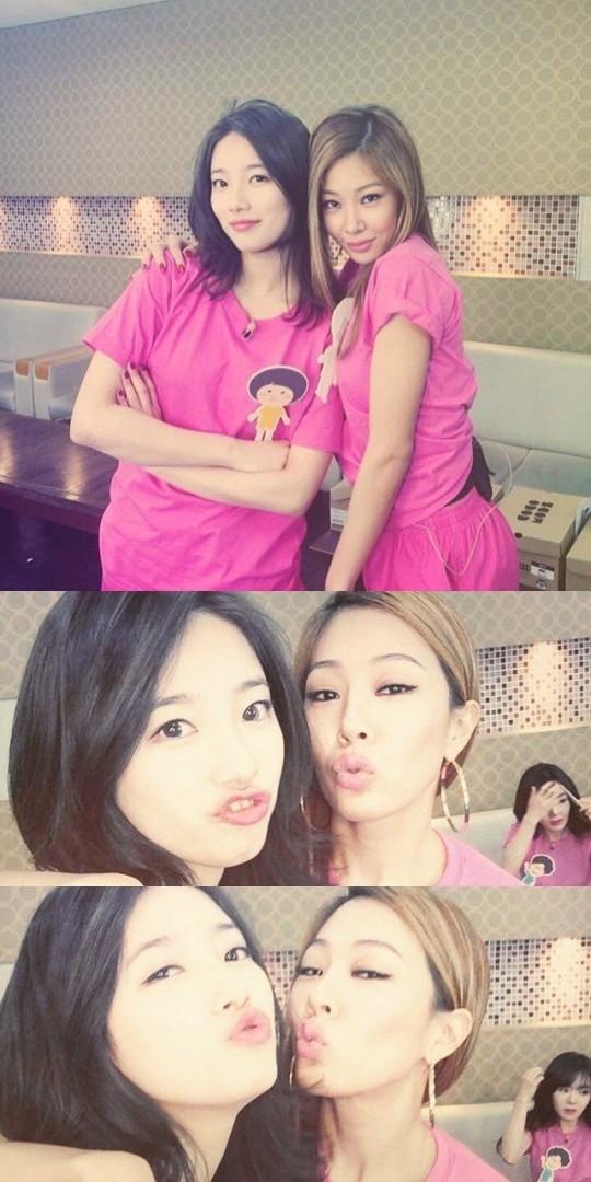 "Jessi、miss A スジと撮った写真を公開""美女と一緒に"""