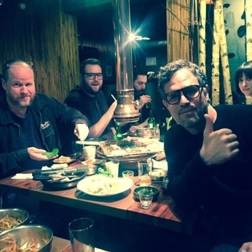 """マーク・ラファロ「アベンジャーズ2」チームで韓国の焼肉を堪能""""本当においしい"""""""