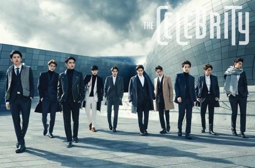 EXO in SEOUL!ソウルを背景にした、10人の男の洗練されたグラビア公開
