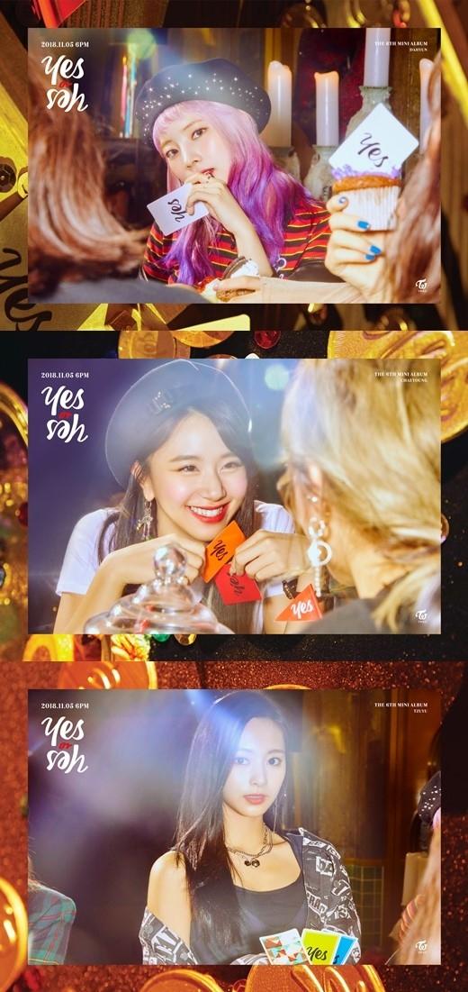 TWICE ツウィ&ダヒョン&チェヨン、6thミニアルバム「YES or YES」予告イメージ公開\u2026新しいヘアスタイルにも注目 , MUSIC ,  韓流・韓国芸能ニュースはKstyle