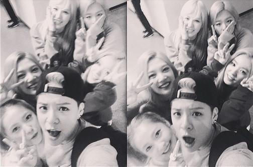 f(x) エンバ、Red Velvetとの仲睦まじい団体ショットを公開「うちの子たちは泣いても可愛い」