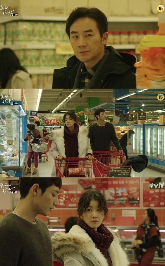 """「一理ある愛」オム・テウン、イ・シヨン&イ・スヒョクのスーパーでのデートに""""焼きもち"""""""