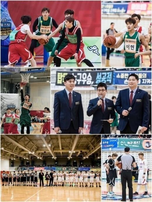 EXO タオ、GOT7 ジャクソンら「アイドル陸上大会」バスケットボール試合の様子を公開!優勝を手にするのは?