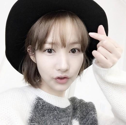 パク・ミニョン、寒さを吹き飛ばす可愛さ…愛嬌たっぷりなセルフショット公開 - ENTERTAINMENT - 韓流・韓国芸能ニュースはKstyle