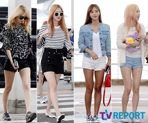 少女時代の夏ファッションは、「ショートパンツ」美脚を魅せつける!