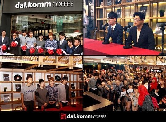 2AM、マレーシアにオープンした韓国コーヒーチェーン店の記念イベントに参加