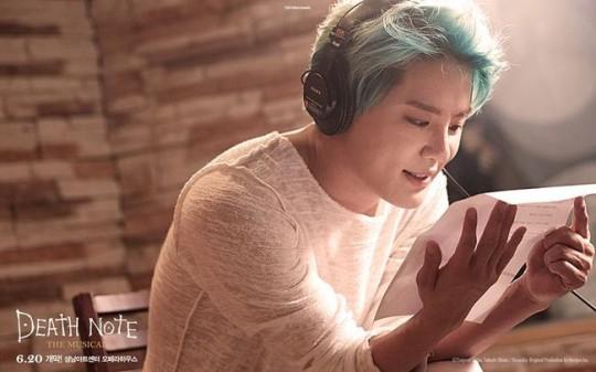 "JYJ ジュンス、ミュージカル「デスノート」のミュージックビデオ公開""圧倒的歌唱力"""