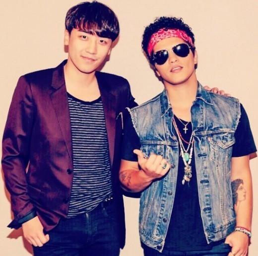 BIGBANGのV.I、ブルーノ・マーズとツーショット\u2026「韓国か日本に来たら僕に教えて」 , ENTERTAINMENT ,  韓流・韓国芸能ニュースはKstyle