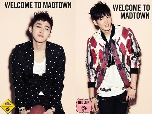 """""""MBLAQの弟グループ""""MAD TOWN、今月カムバック!ムース&ホジュンのジャケットイメージを公開"""