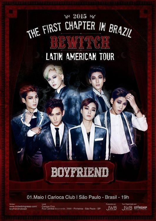 "BOYFRIEND、初の中南米4ヶ国ツアーを5月開催""海外からラブコールが殺到"""