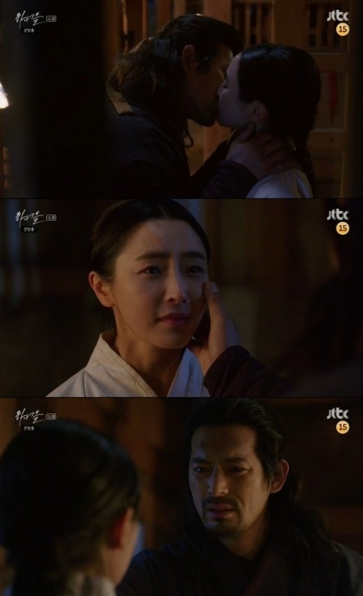 """「下女たち」オ・ジホ、チョン・ユミに熱いキス""""一緒に逃げよう"""""""
