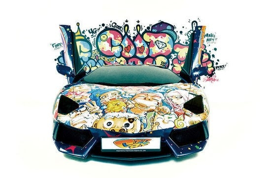 "G-DRAGON、7日「人気歌謡」で愛車のスポーツカーを公開!""GD×SOLの地上波初ステージ記念"""