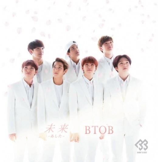 BTOB、日本2ndシングル「未来~あした~」オリコンデイリー2位!初日6万枚販売