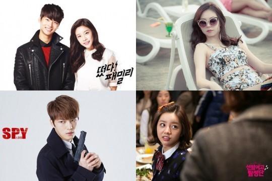 JYJ ジェジュンからVIXX エンまで、2015年最もホットな演技アイドルは誰?