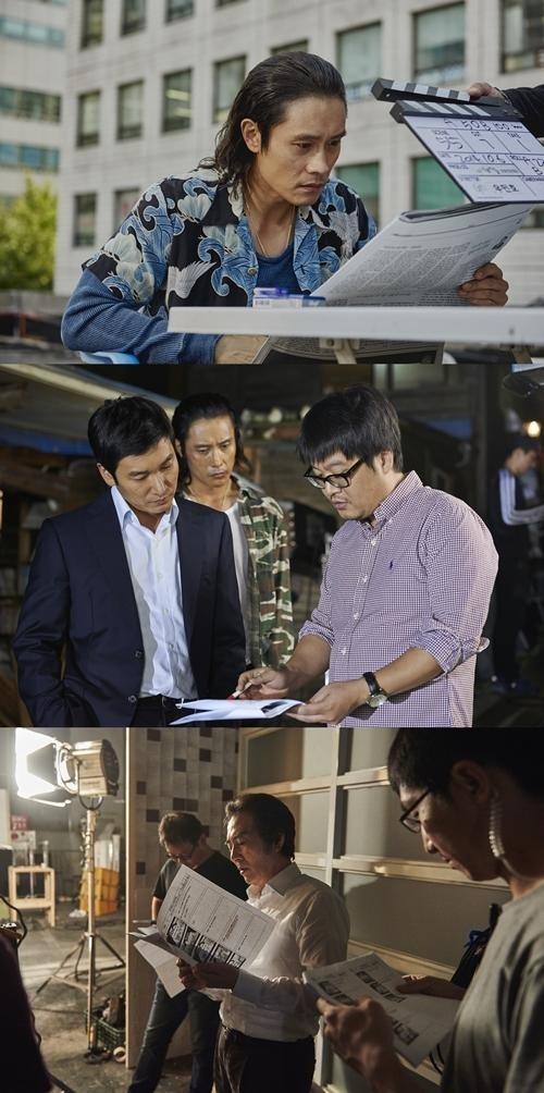 イ・ビョンホン&チョ・スンウ主演「内部者たち」11月19日の韓国公開を確定…メイン予告映像を公開