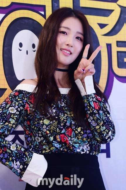 """4Minute ナム・ジヒョン、ドラマの制作発表会で近況を明かす""""カムバックは来年"""""""