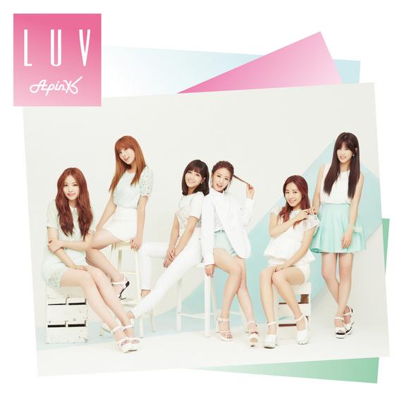 Apink、日本3rdシングル「LUV -Japanese Ver.-」ジャケット全タイプ公開