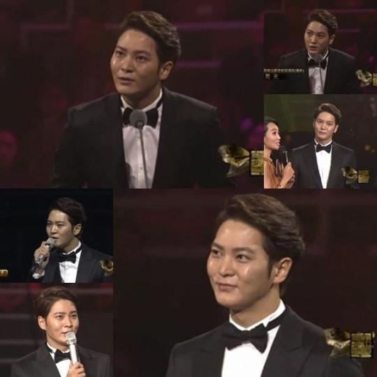チュウォン、中国で最高歓迎俳優賞を受賞「韓流を導く上で貢献できる俳優になる」
