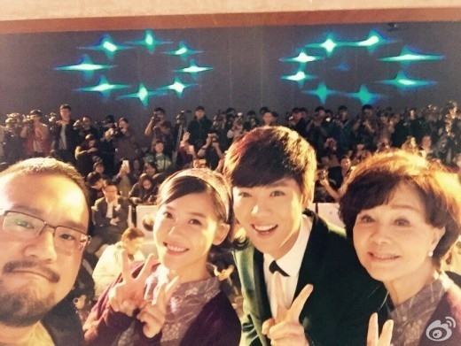 EXOを離れたルハン、中国版「怪しい彼女」イベントに出席…俳優として独り立ちするか