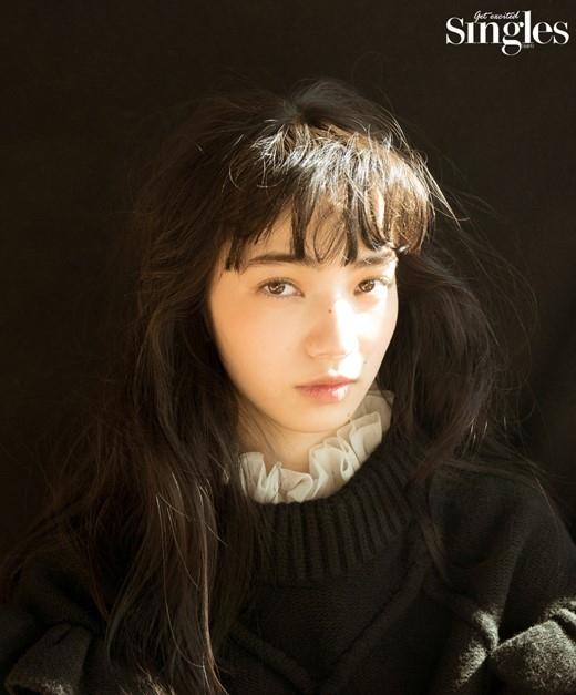 小松菜奈さんのポートレート