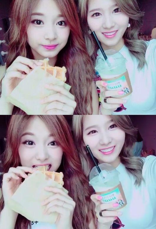 TWICE サナ&ツウィ\u0026チェヨン、ファンに動画で挨拶\u2026キュートな声で「美味しく召し上がってくださ~い」 , ENTERTAINMENT ,  韓流・韓国芸能ニュースはKstyle