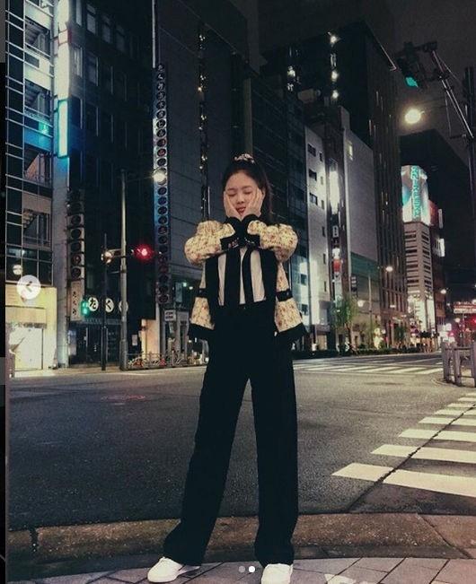 BLACKPINK ジェニー、日本滞在中...