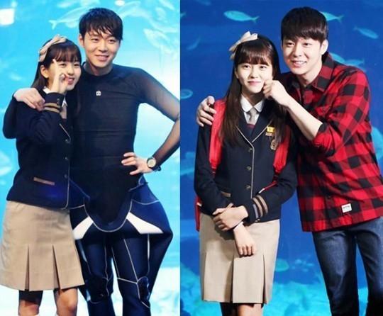 JYJ ユチョン&キム・ソヒョン「匂いを見る少女」仲良し兄妹のビハインドカット