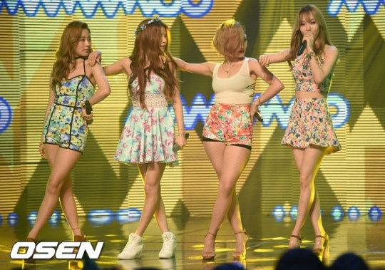 【PHOTO】AOA、Girl's Day、Nine Muses…7/15放送「SHOW CHAMPION」に出演 ...