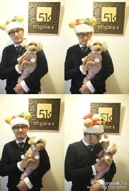 ソ・ジソブ、ヒゲを伸ばしてイメージチェンジ?子犬を抱いたキュートな写真を公開「メリークリスマス」