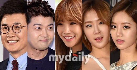 SISTAR ソユ&Girl's Day ヘリら「MBC歌謡大祭典」のMCに抜擢!