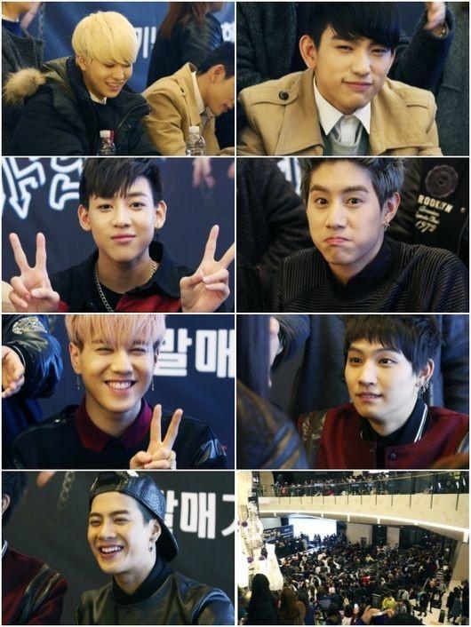"""GOT7、ファンミーティングを開催…海外ファンが多く押し寄せ""""幸せな時間"""""""