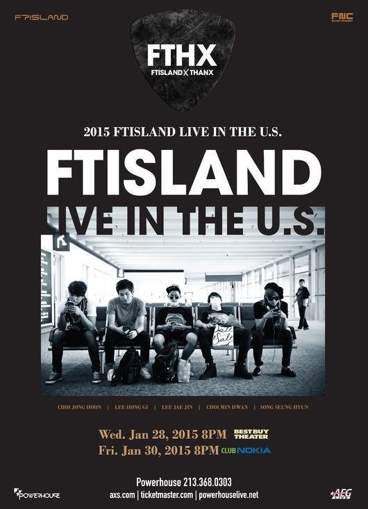 FTISLAND、ファンの要望に応えてアメリカ公演決定!