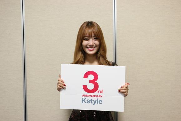 【Kstyle3周年】Secret ジウンさんからサイン入りプレゼントが到着!2名様にプレゼント!