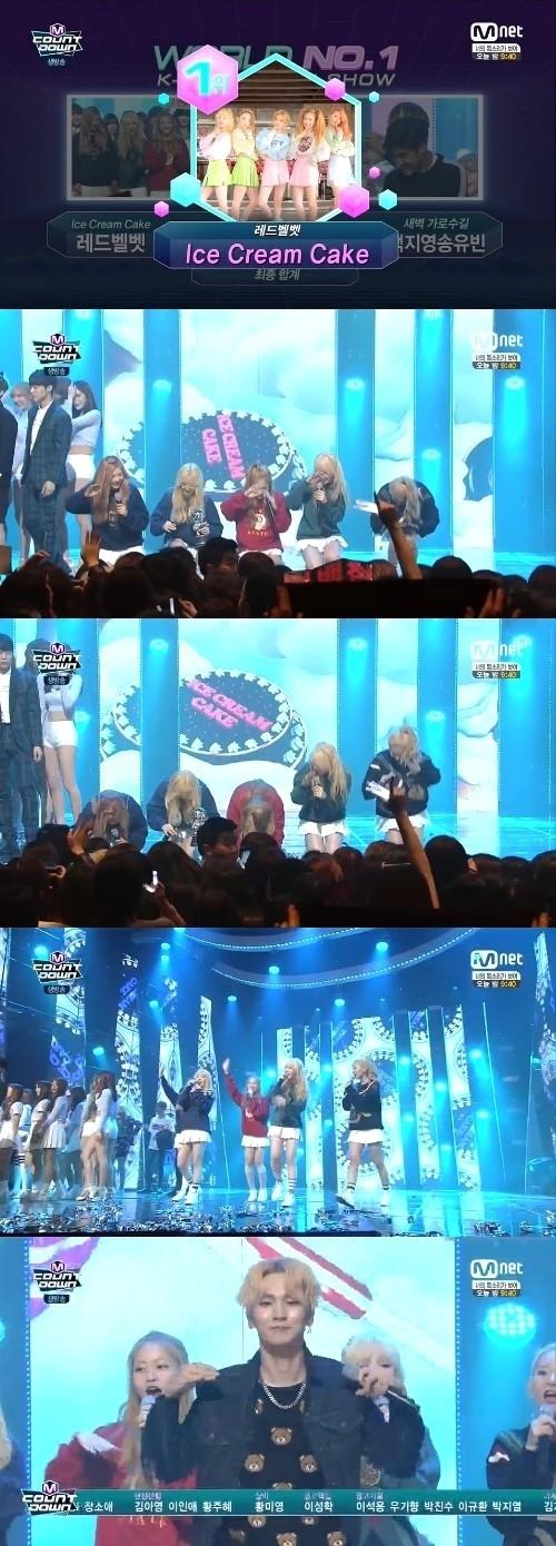 Red Velvet「M COUNTDOWN」でも1位獲得…実行した1位公約とは?