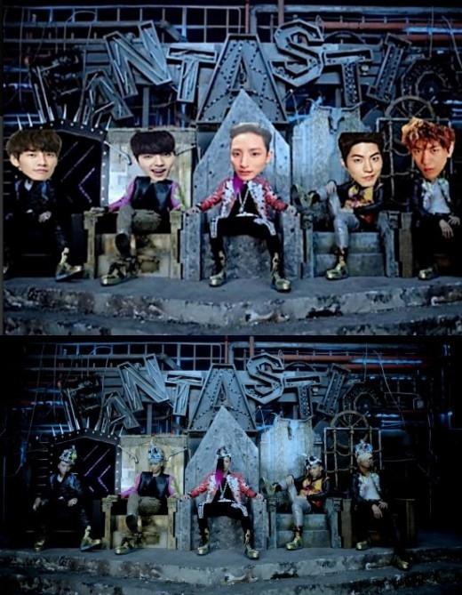 G-DRAGONに挑戦状?イ・スヒョクがBIGBANGの合成写真を公開「見てるか、GD」